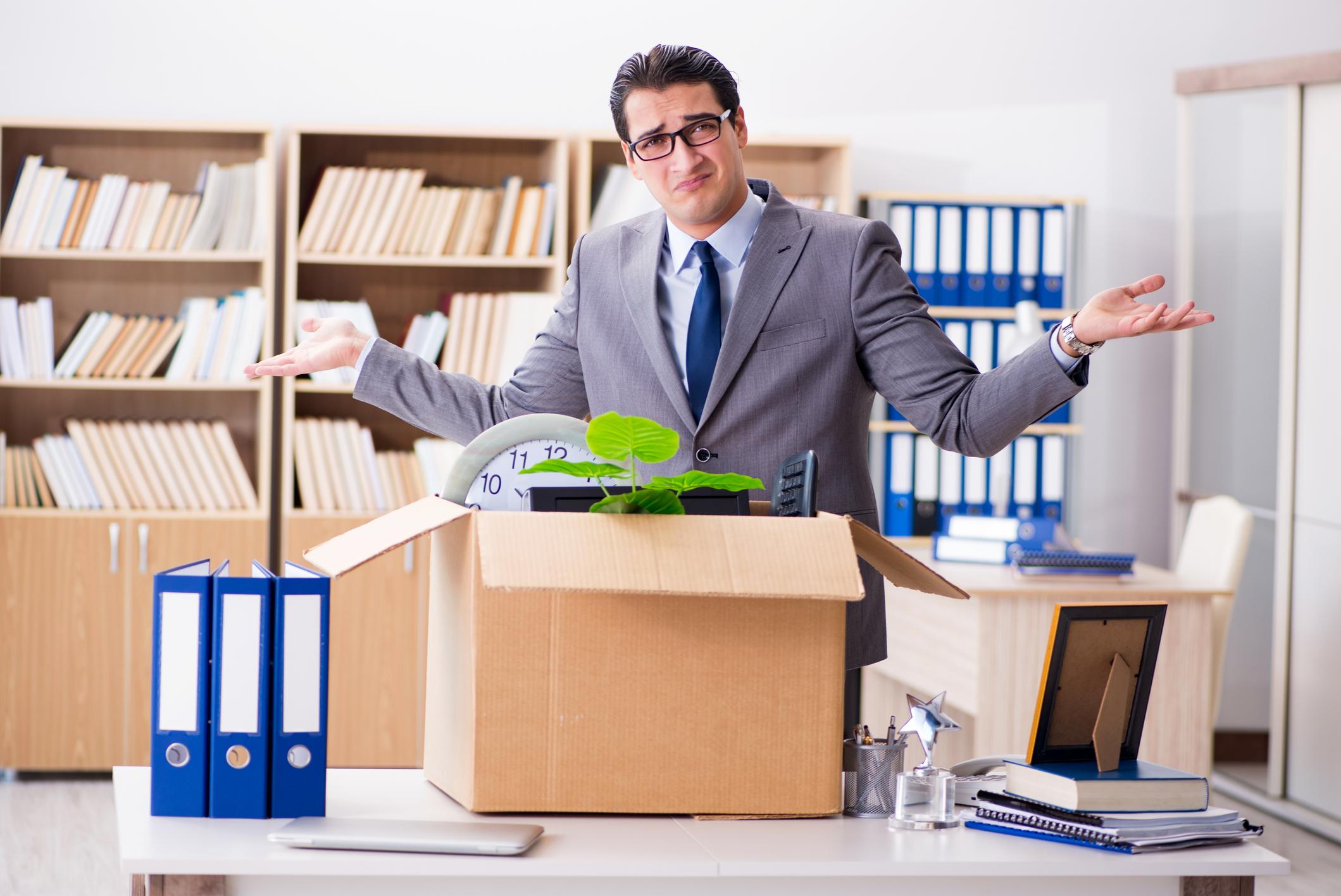onstlag nemen bij een nieuwe job is geen goed idee
