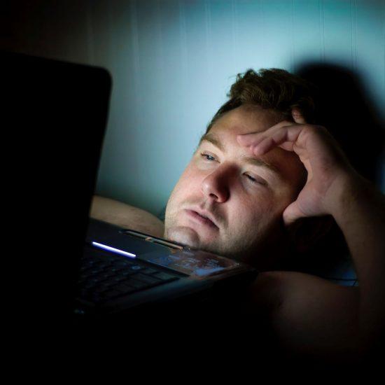 Slaaploze nacht dragen bij tot stress