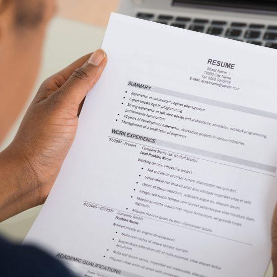 Sollicitatietraining - Stop het geknoei met je CV en motivatiebrief